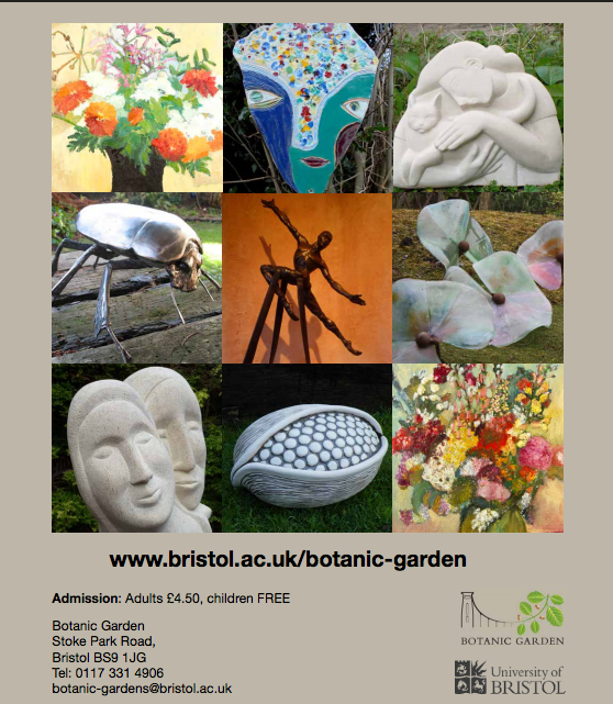 Flyer for the Art and Sculpture Festival 2015